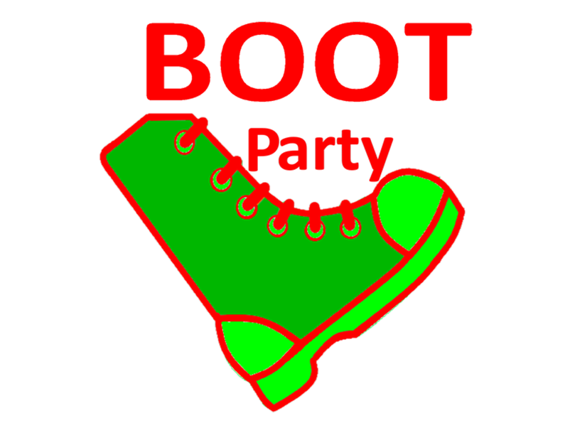 Because of our Tomorrow aka Boot Party